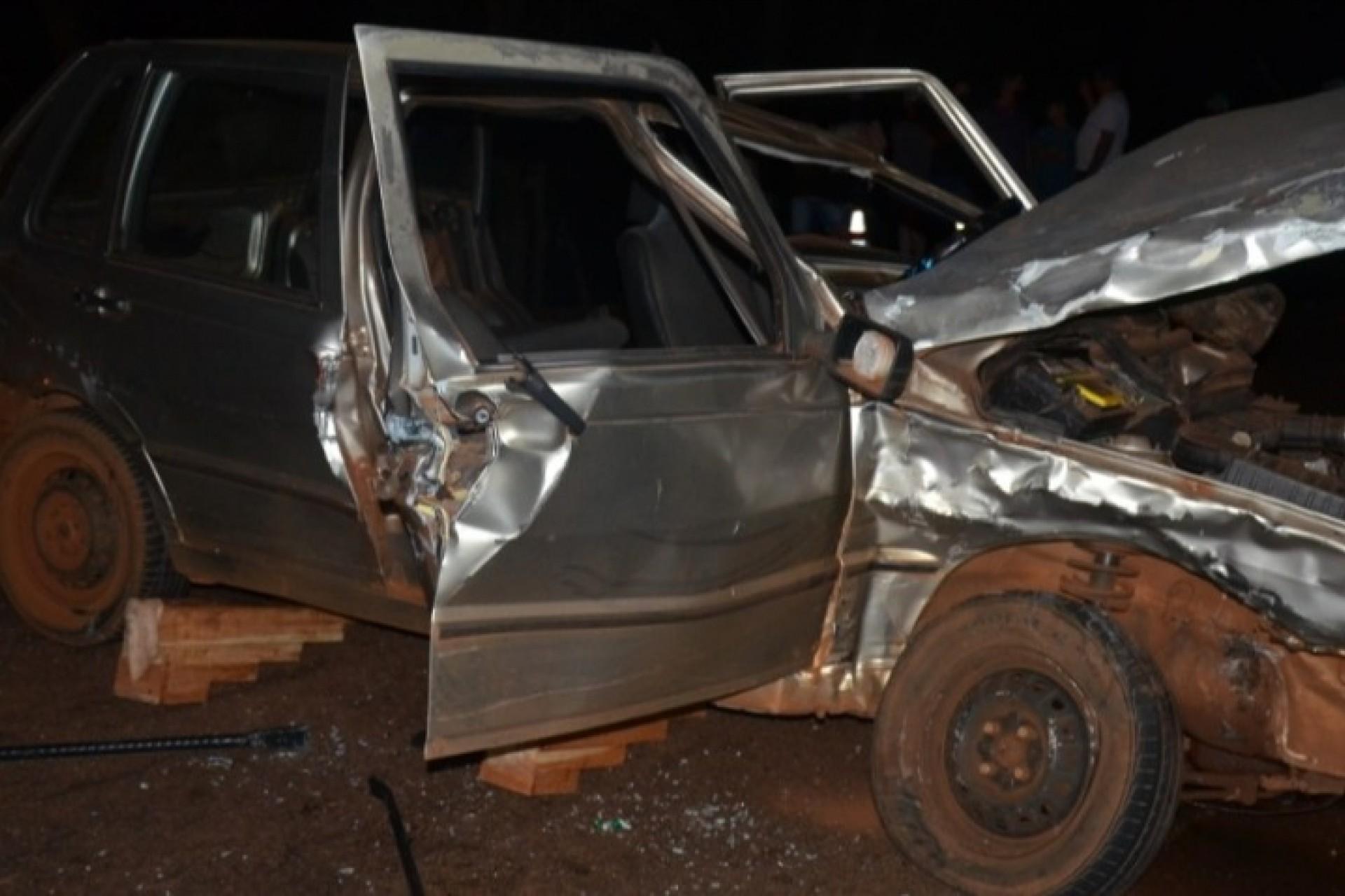 Acidente envolve três veículos na PR 497