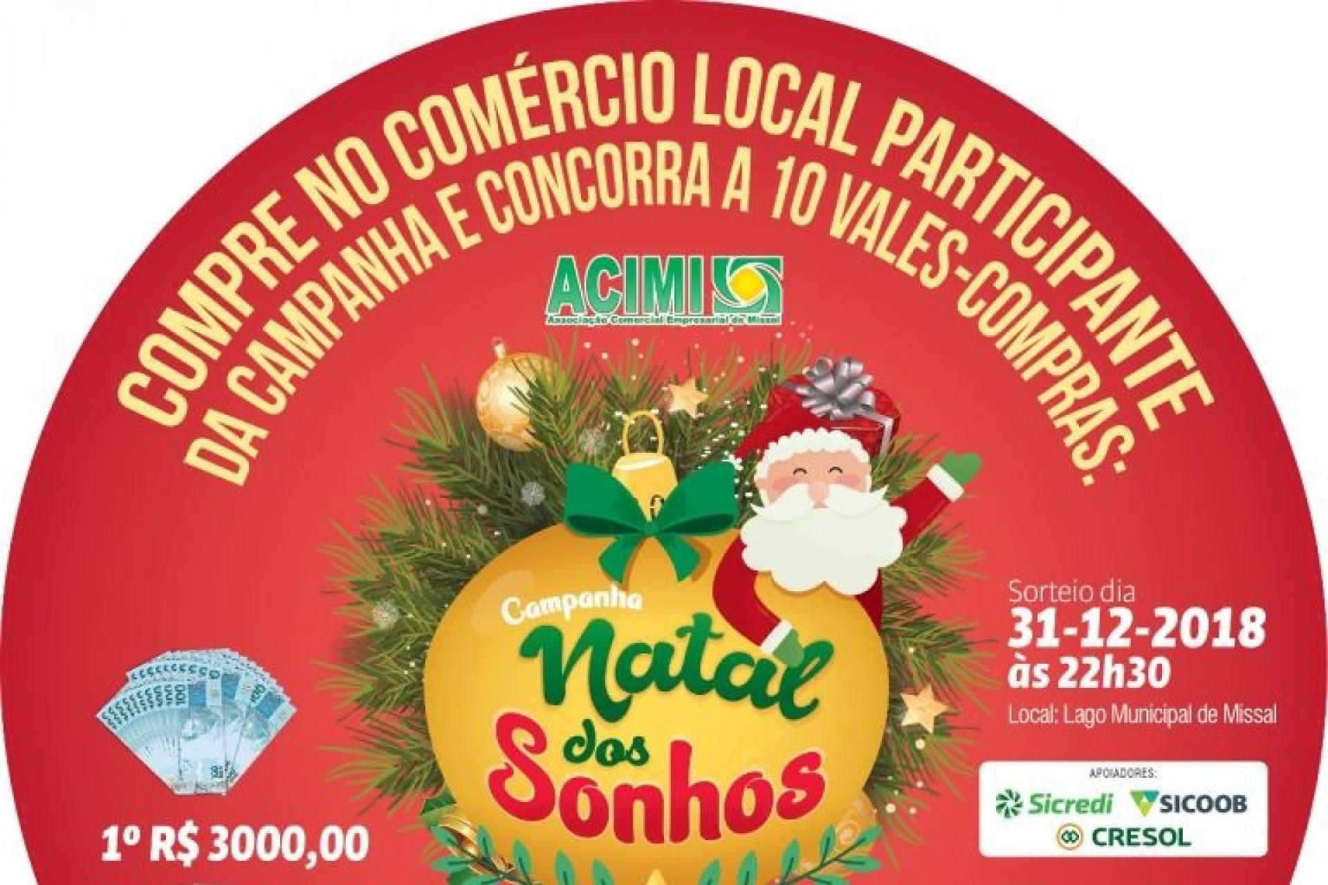 641d28c720e Campanha Natal dos Sonhos ACIMI