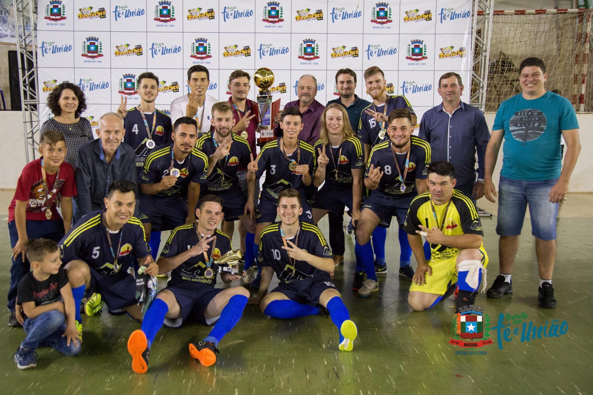 Conhecidos os Campeões do Municipal de Futsal