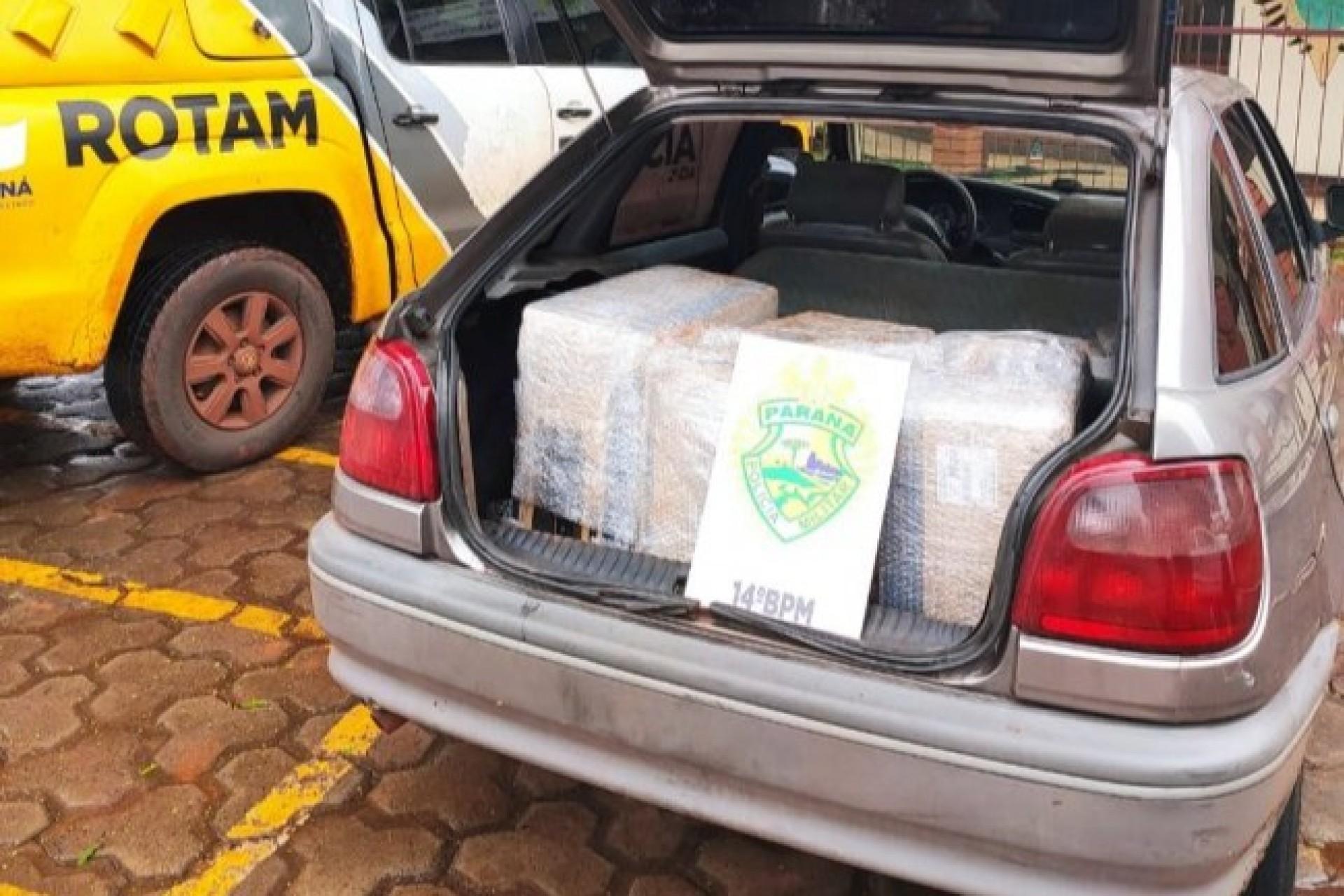 Contrabando é apreendido pela equipe da ROTAM em Itaipulândia
