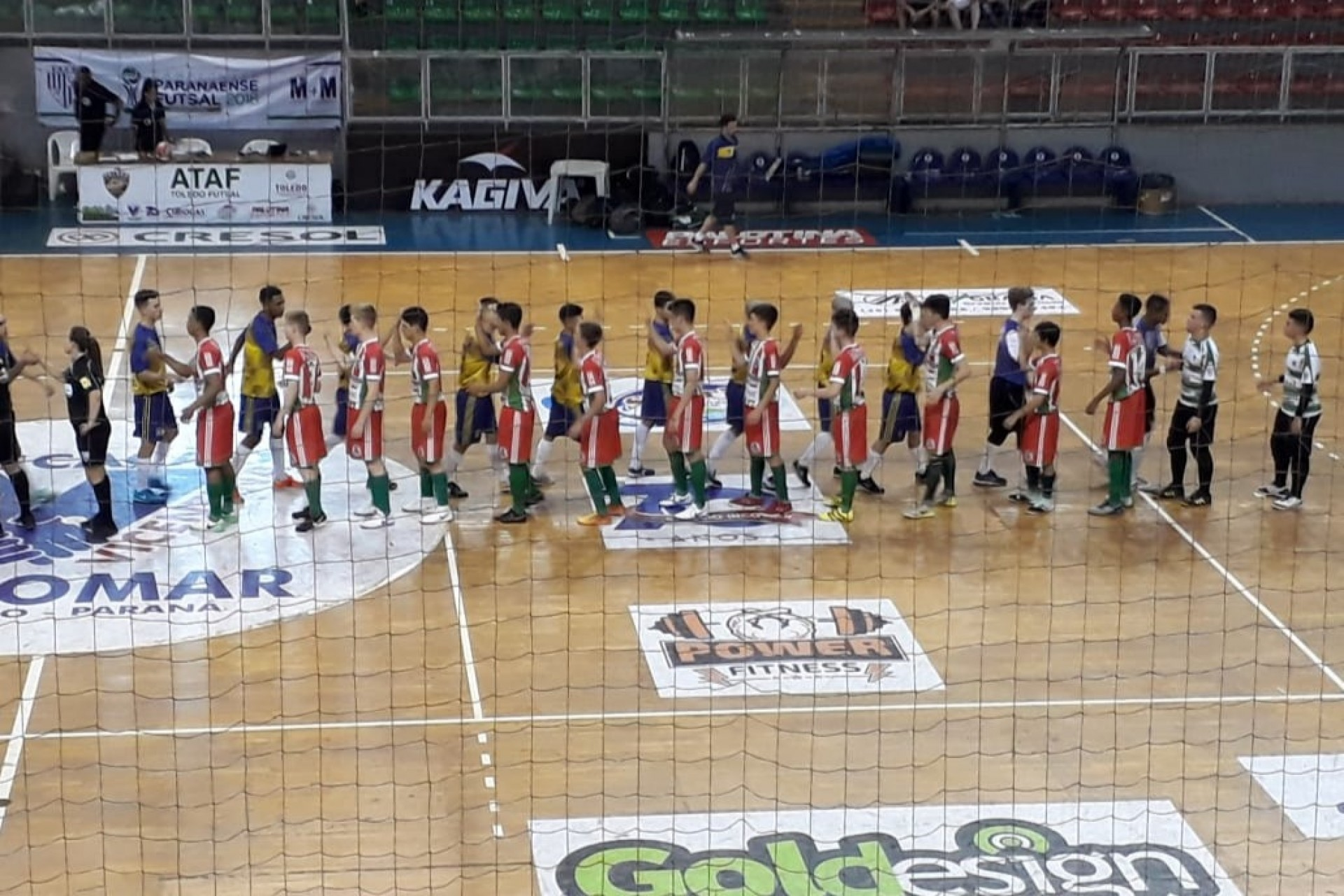 Equipe de Missal se classifica para as quartas de final da Divisão A dos Jogos da Juventude