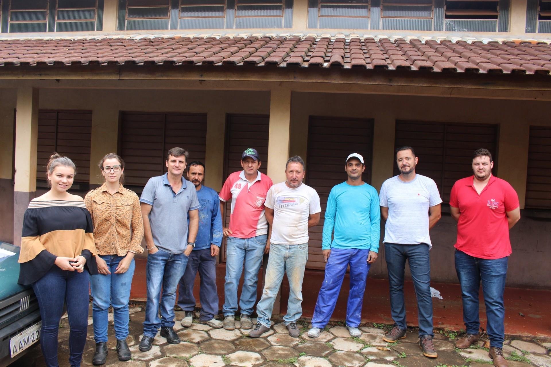 Espaço destinado à Feira do Produtor Rural de Itaipulândia será reformado e ampliado