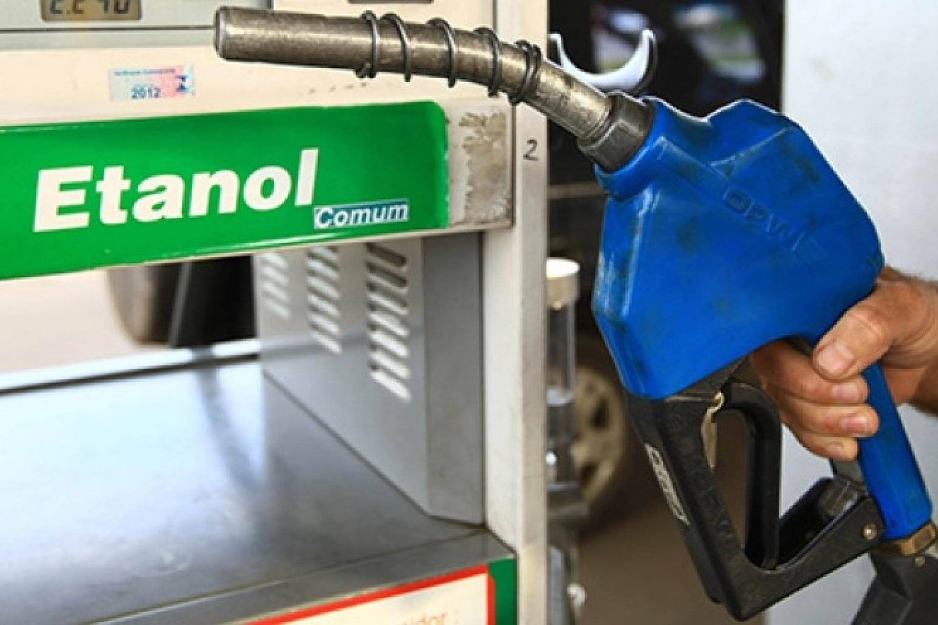 Etanol segue mais vantajoso que a gasolina no Paraná