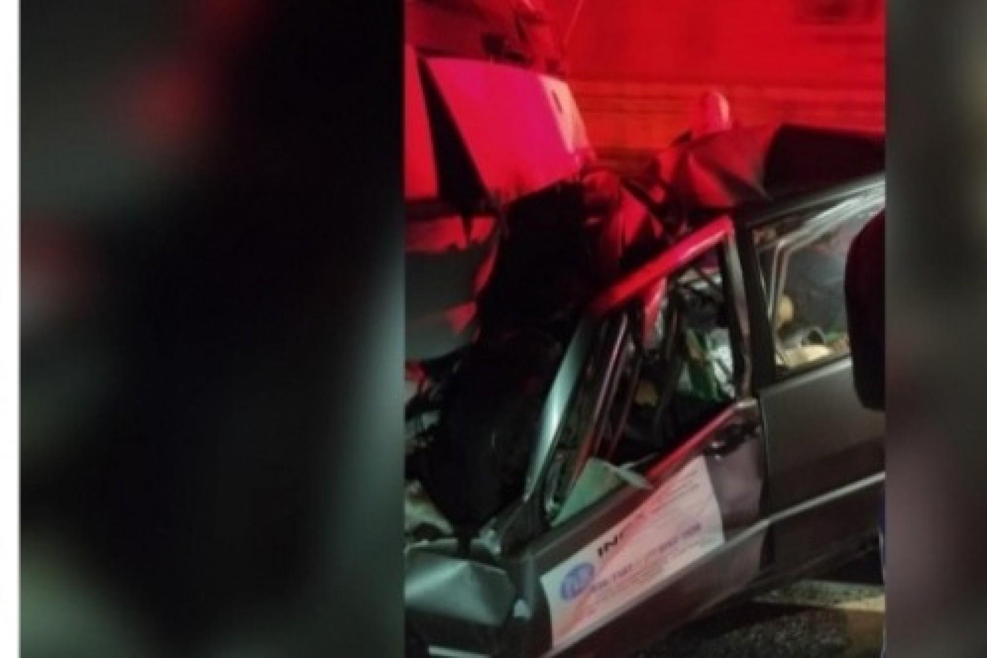 Grave acidente foi registrado na PR 495 em Medianeira