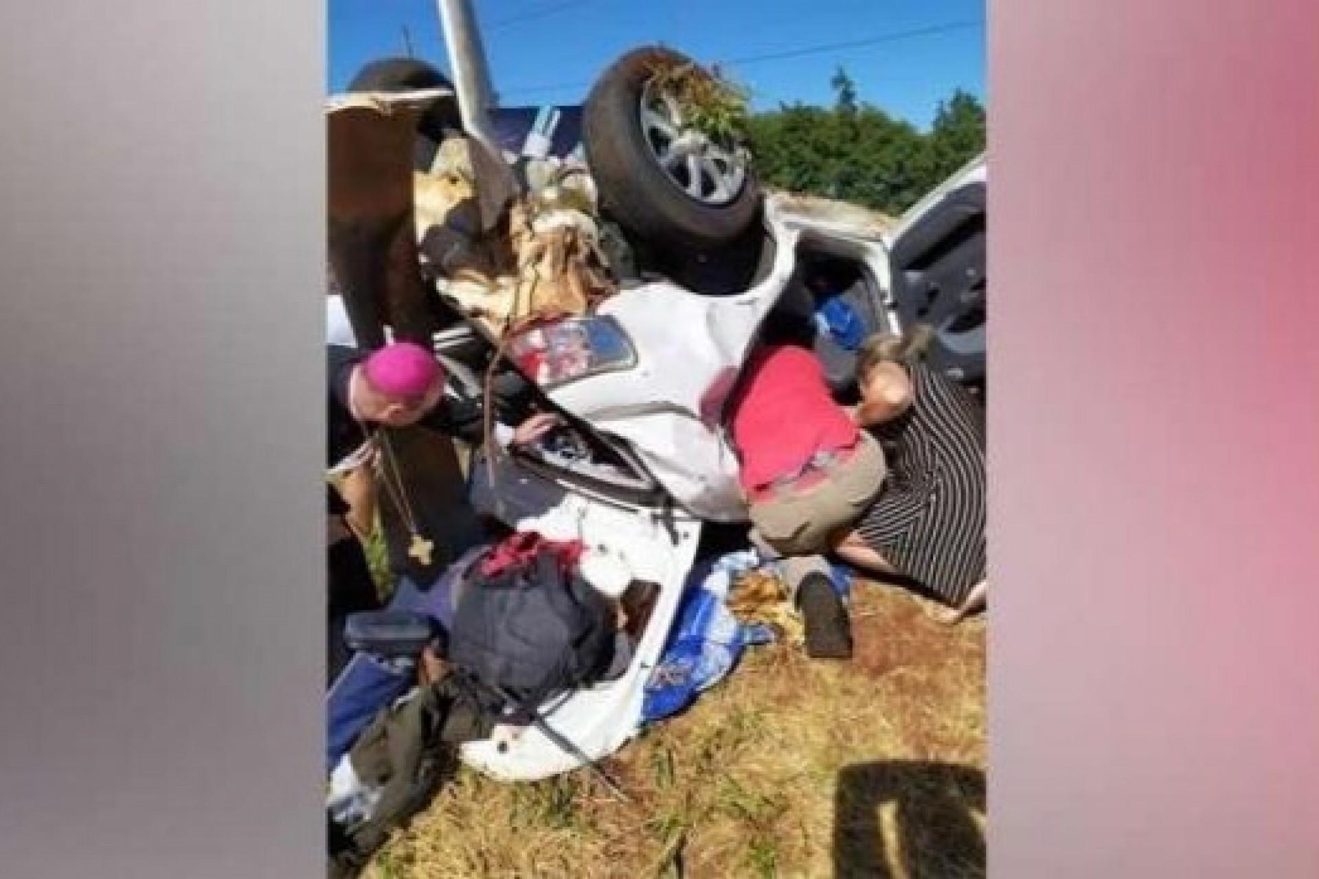 Identificadas vítimas feridas em grave acidente na BR 277, em Céu Azul