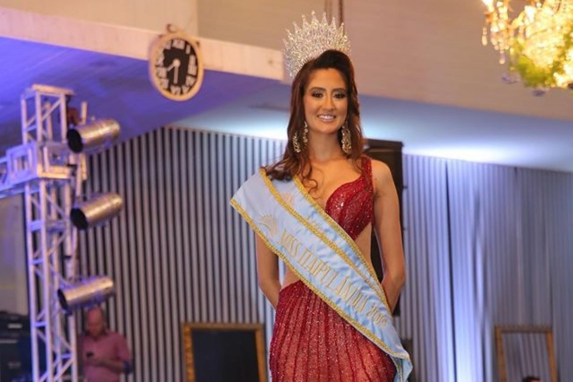 Letícia Spieker Gasparini é eleita Miss Itaipulândia 2019