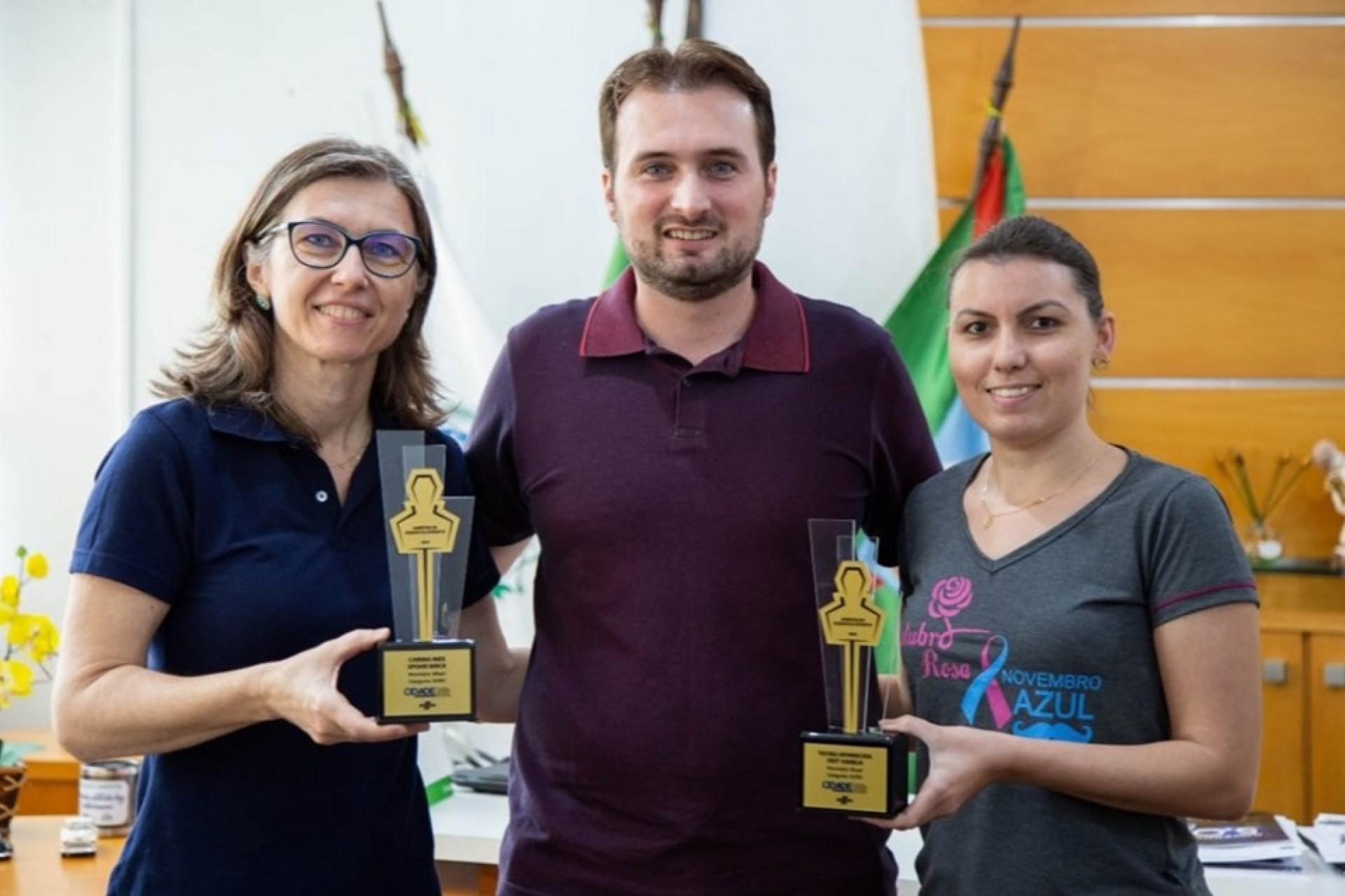 Missal recebe troféu Categoria Ouro na atuação dos Agentes de Desenvolvimento