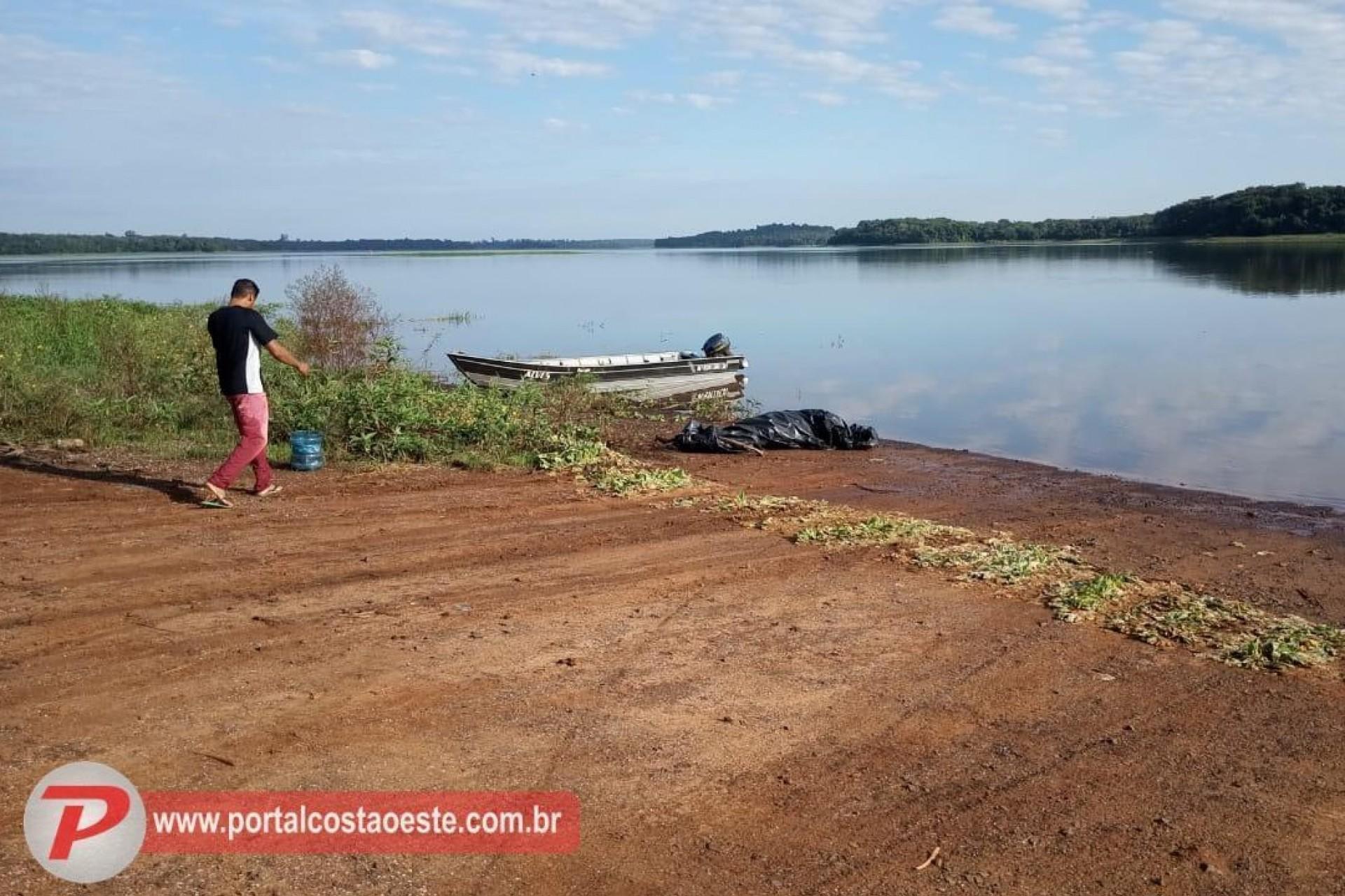 No terceiro dia de buscas, bombeiros encontram corpo de pescador que estava desaparecido