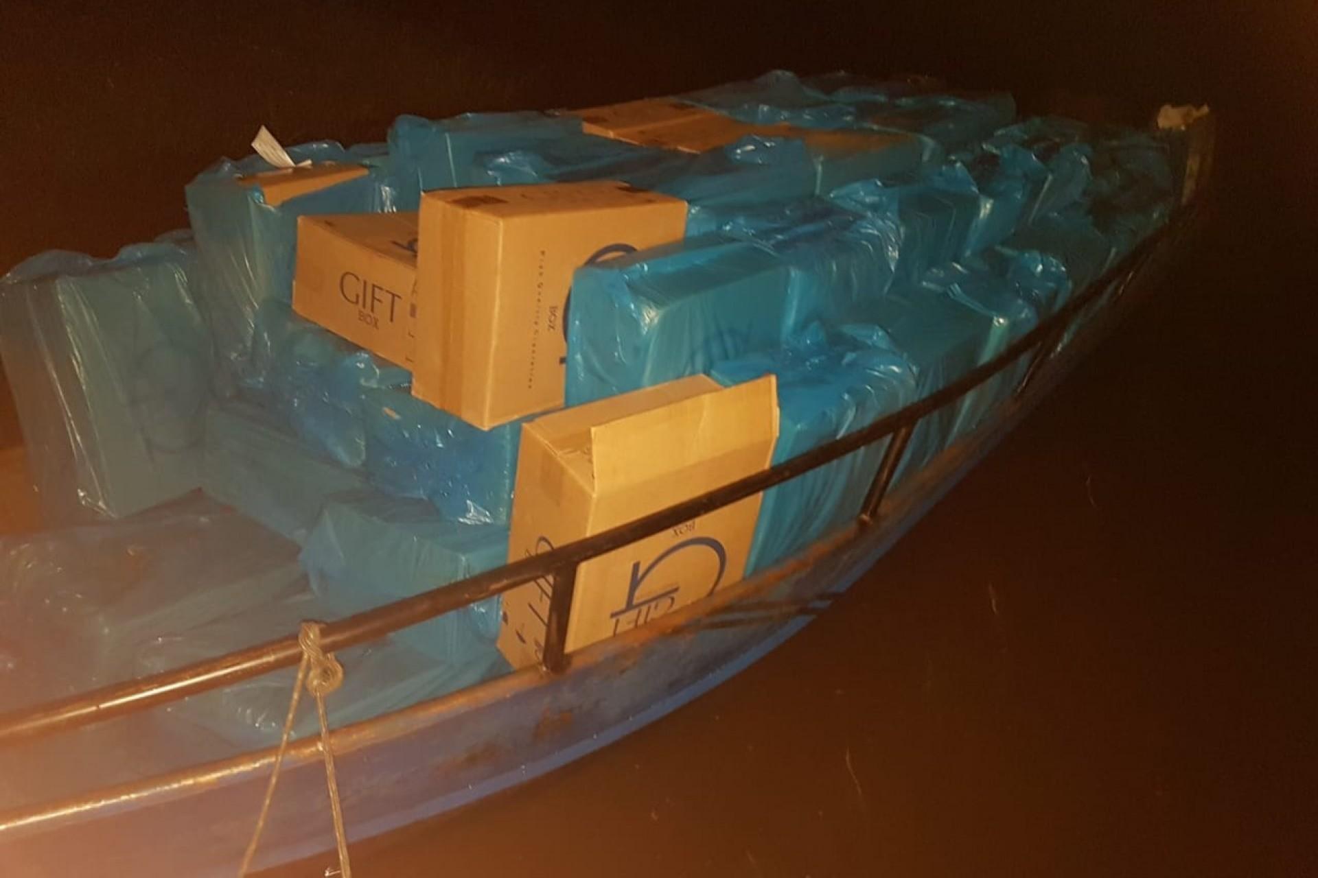 Operação Hórus faz apreensão no Lago de Itaipu, na cidade de Missal