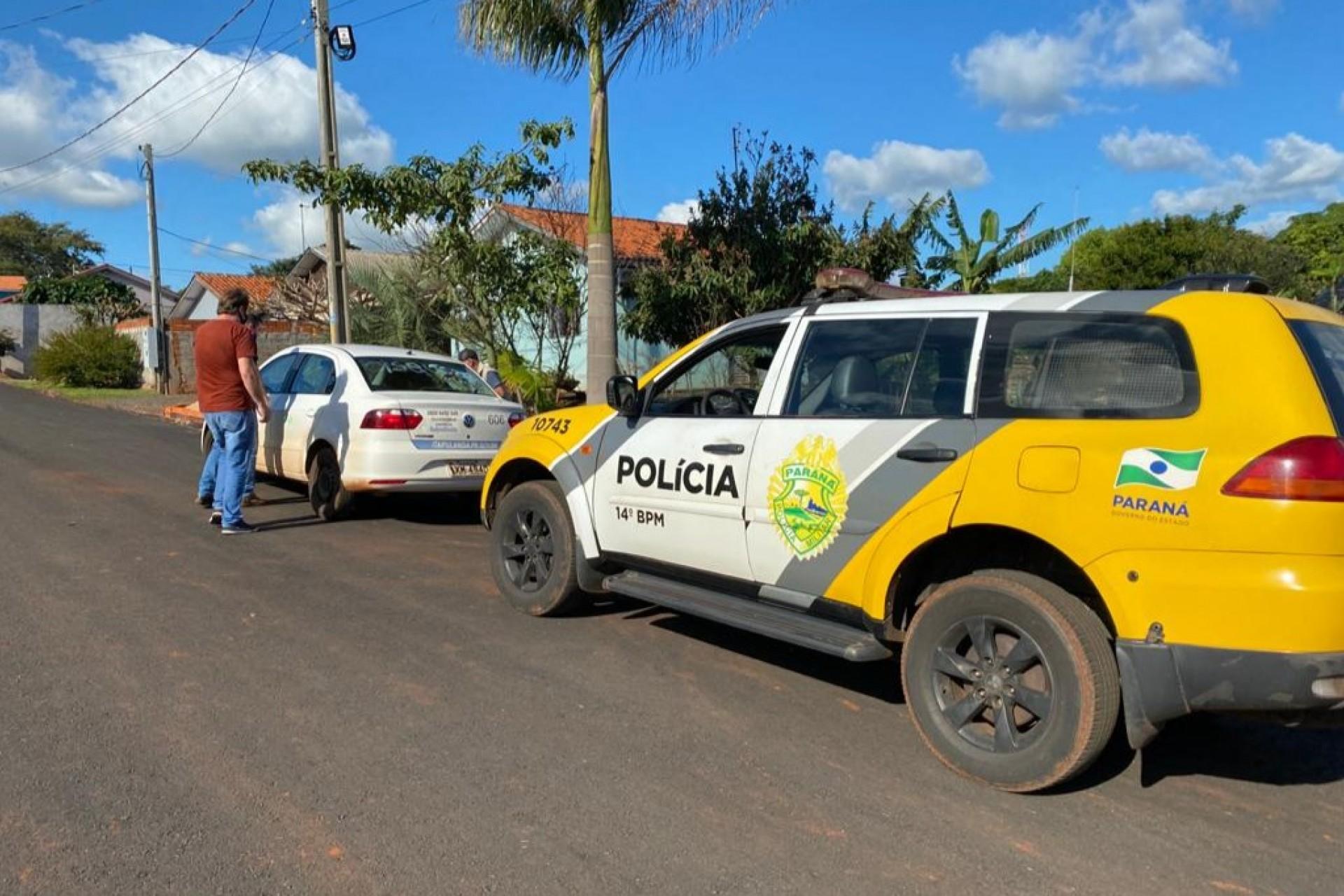 PM de Itaipulândia em conjunto com fiscais visitam pessoas que testaram positivo para Covid-19