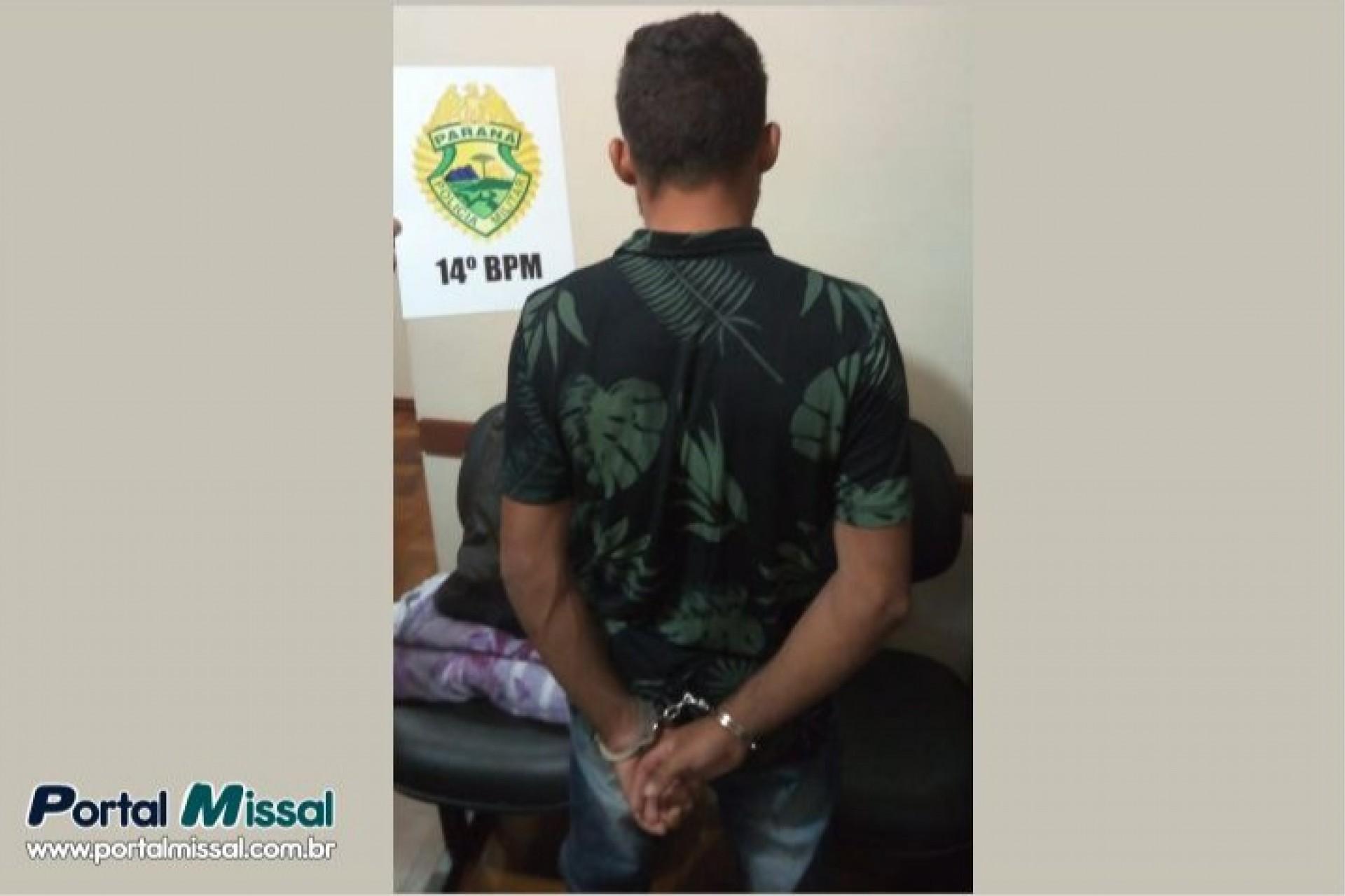 PM de Itaipulândia prende condenado por estupro de vulnerável