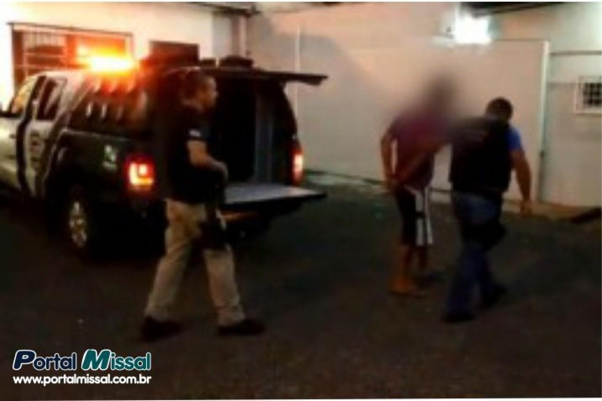 Polícia Civil cumpre mandado de prisão de tio acusado de abusar de sobrinhas de seis e sete anos