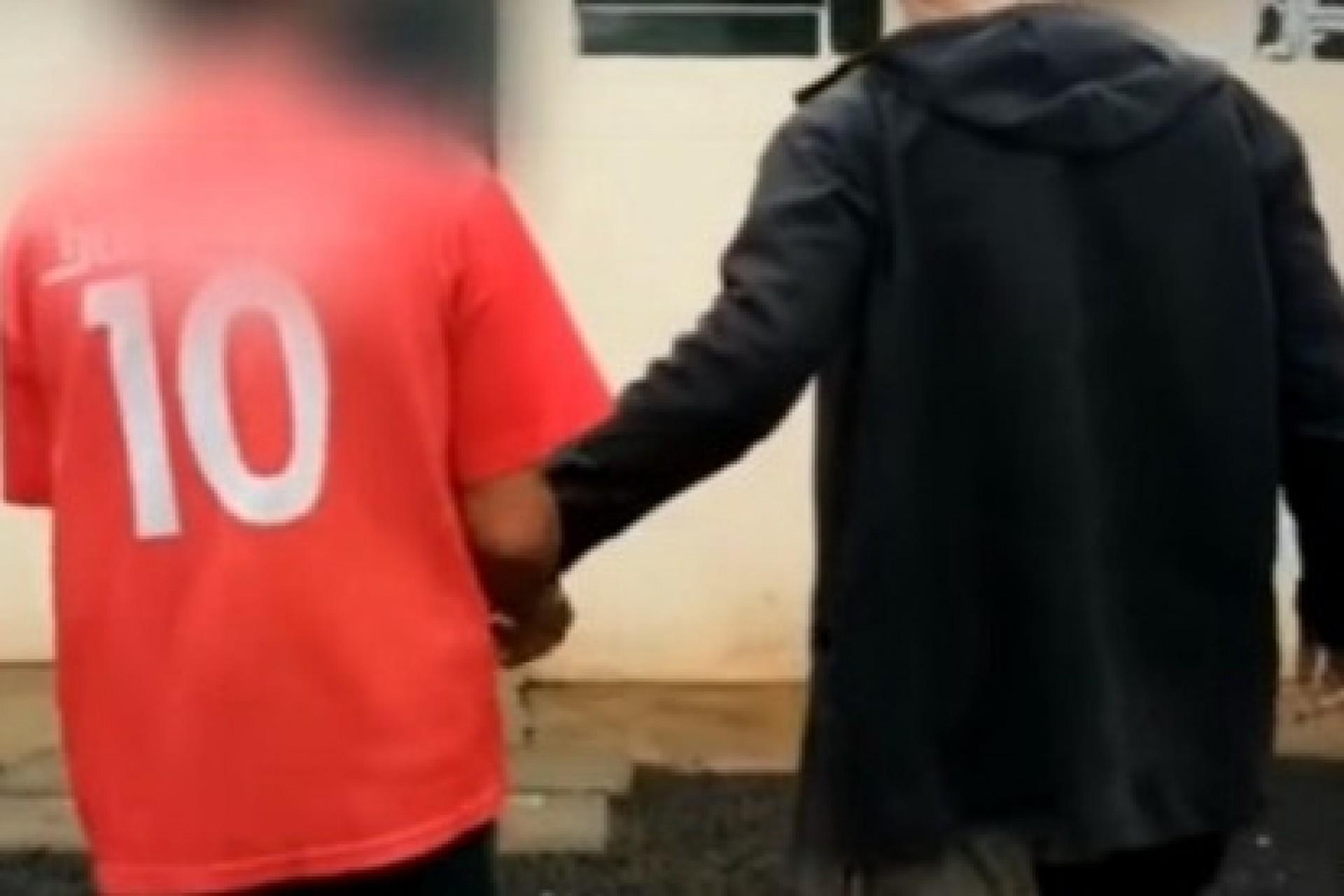 Polícia cumpre mandado de prisão contra homem que abusou de criança de 7 anos em Itaipulândia