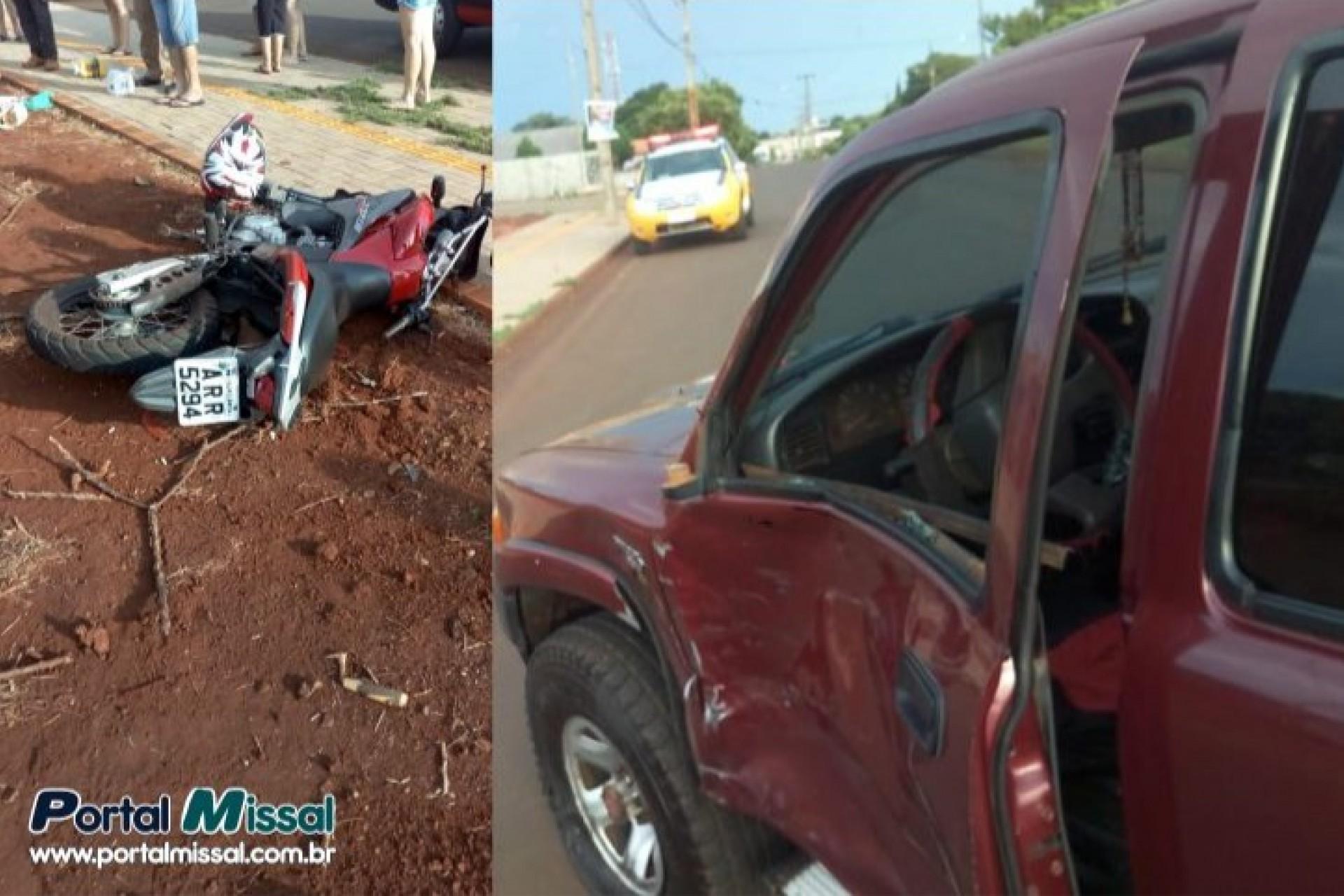 Policia Militar atende grave acidente em Itaipulândia