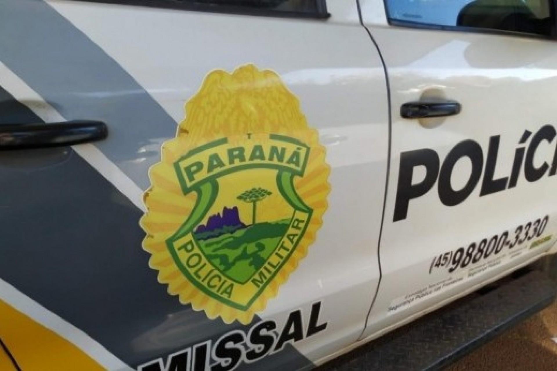 Policia Militar de Missal apresenta resultados do mês de Agosto