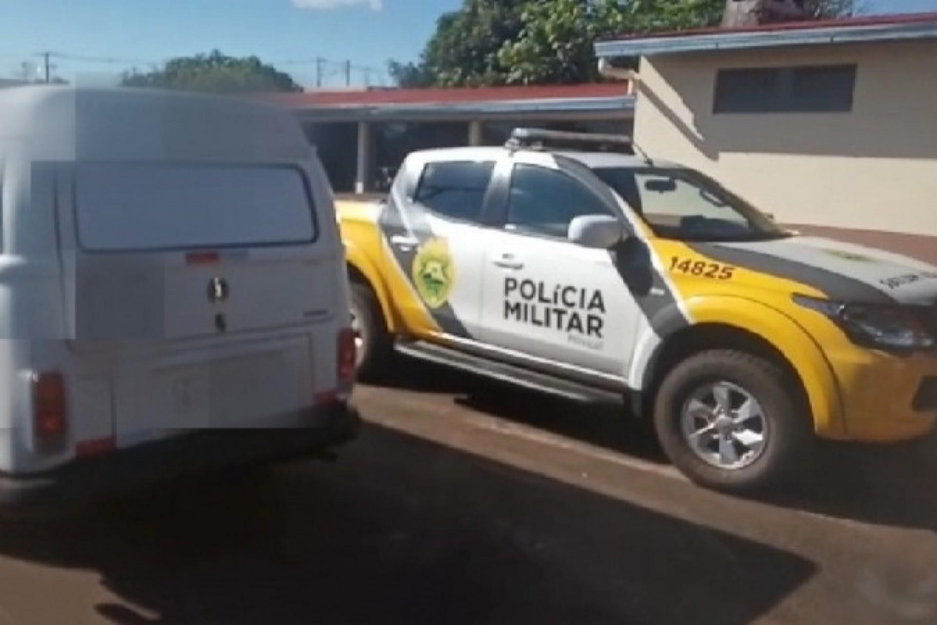 Polícia Militar prende homem com veículo carregado de cigarros em Missal