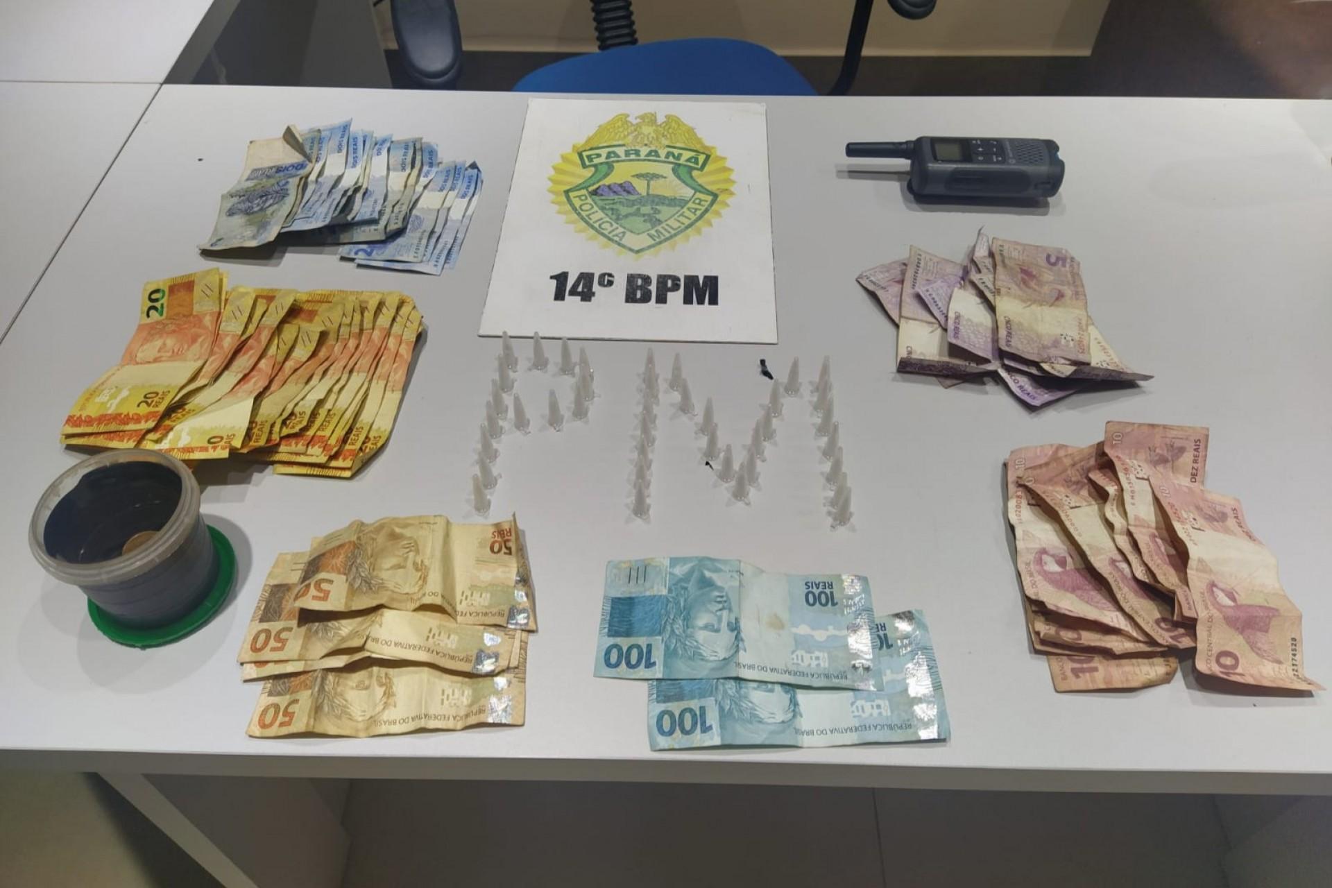 Polícia Militar prende mulher por tráfico de drogas em Medianeira