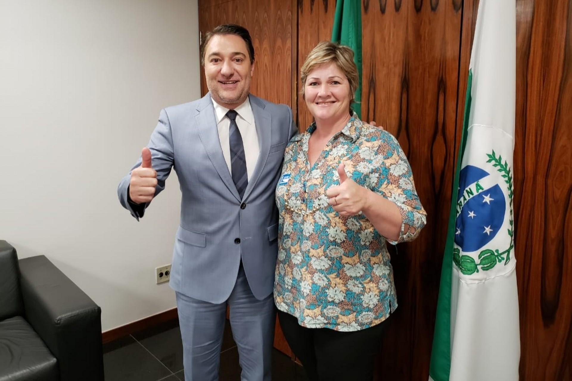 Prefeita Cleide Prates conquista R$ 1,5 milhões através de emenda parlamentar do deputado Giacobo