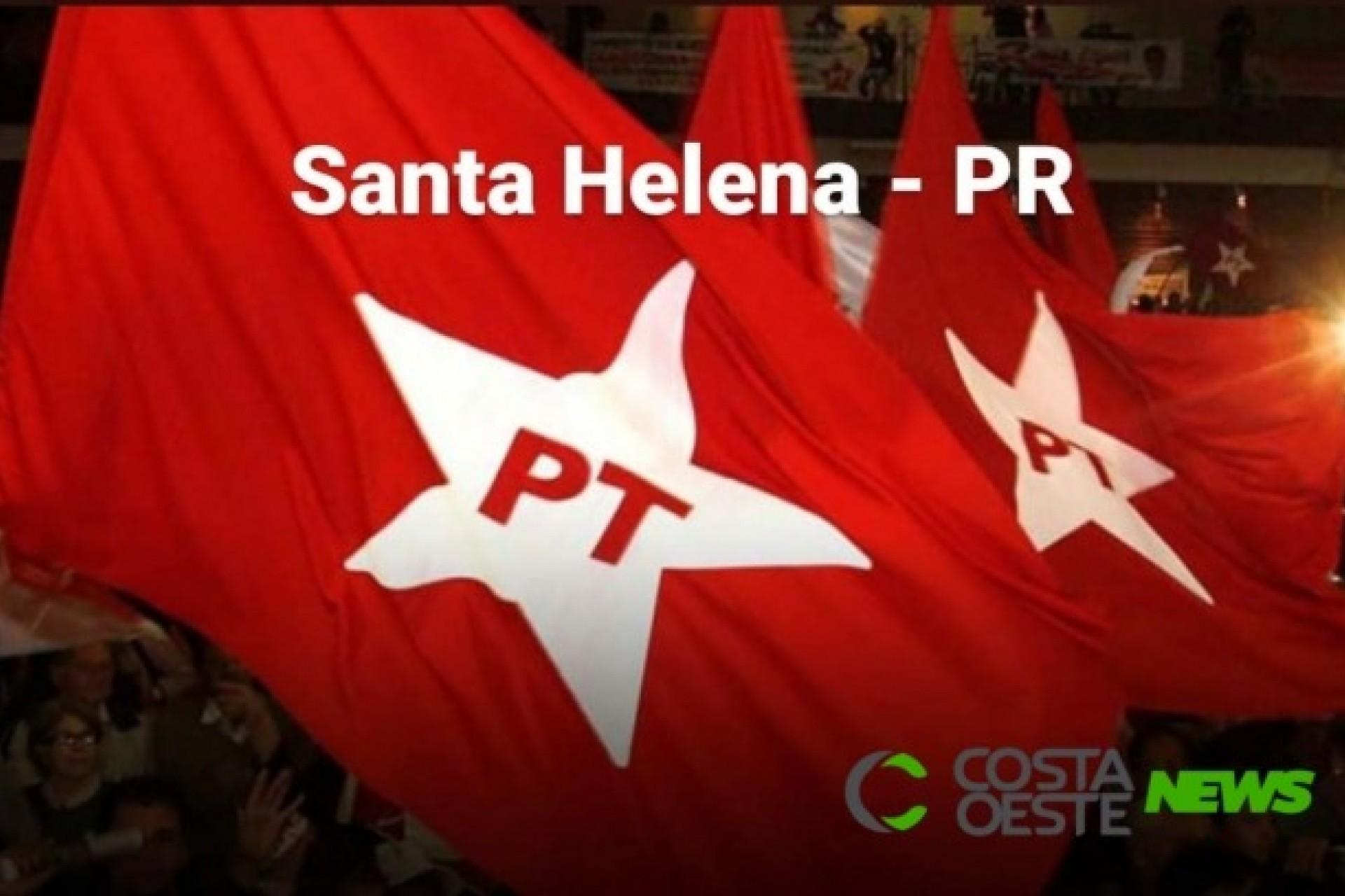PT de Santa Helena aprova coligação com o MDB para majoritária