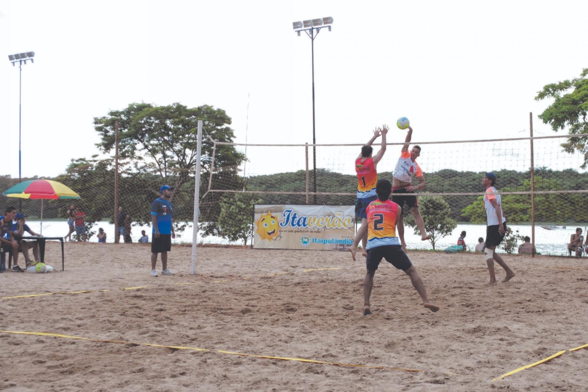 Vôlei de praia regional vai agitar a praia de Itaipulândia neste final de semana