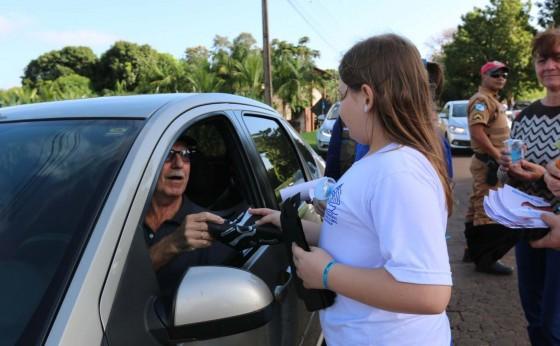 Ação conjunta conscientiza alunos sobre a importância da água em Santa Helena