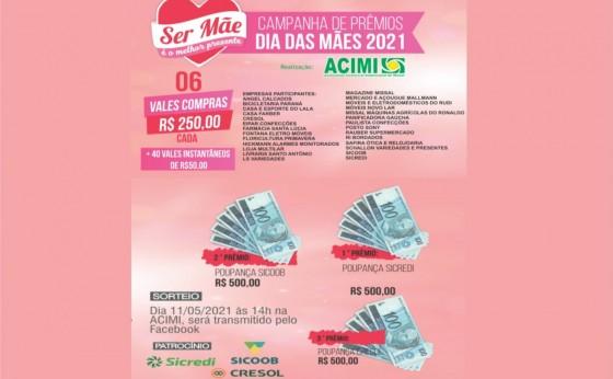 ACIMI: Confira a Relação dos Ganhadores da Campanha de Dia das Mães 2021