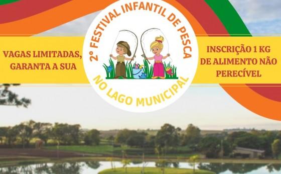 Administração Municipal de Missal organiza o 2º Festival Infantil de Pesca no Lago Municipal