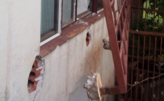 Agência de correspondente da Caixa é arrombada em São Miguel do Iguaçu