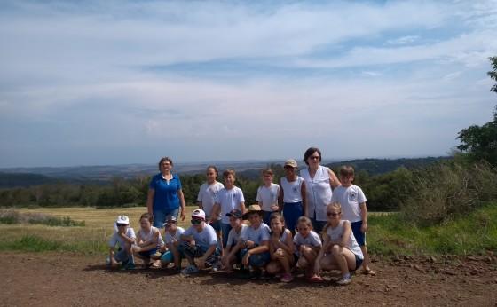 Alunos do 4º ano de Missal participam de passeio do Projeto Conhecendo Missal