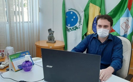 Após retorno de Curitiba, Prefeito Eduardo fará expediente interno sem atendimento ao público