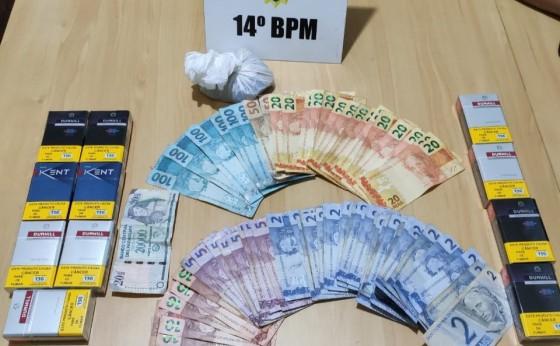 Assaltante do roubo em Portão Ocoí e preso em rápida ação da Policia Militar