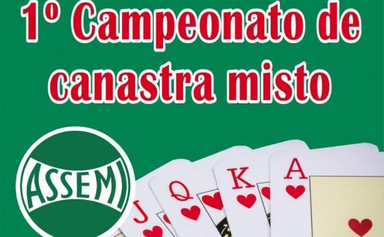 Assemi organiza torneio de Canastra Misto com apoio do Departamento de Esportes