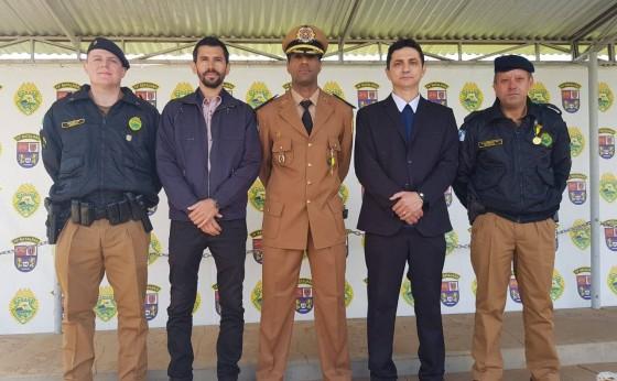 Autoridades participam de solenidade com Polícia Militar do Paraná