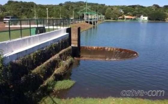 Barragem do Lago Municipal de Cascavel está na lista de alto risco