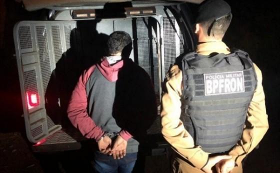 BPFron cumpre mandado de prisão em São Miguel do Iguaçu