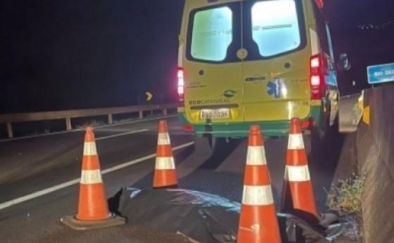 BR 277: Homem morre atropelado entre Medianeira e Matelândia