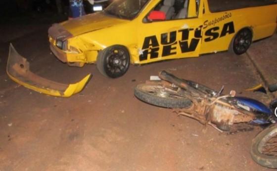 Bruxa à solta: casal fica ferido após acidente de trânsito em Santa Helena