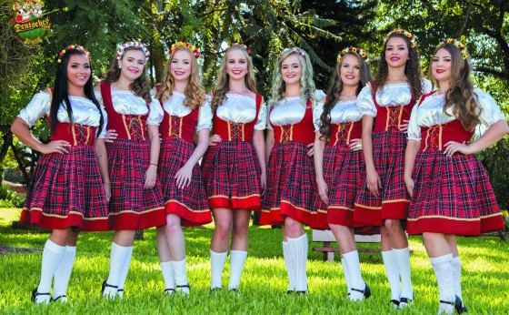 Candidatas a Rainha da Deutsches Fest: saiba mais sobre quem são  as concorrentes ao título