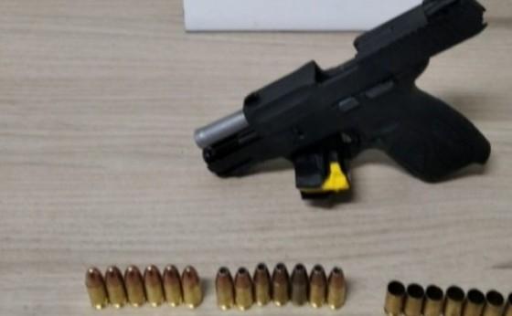 Cerca de 30 tiros são efetuados contra residência em Santa Helena
