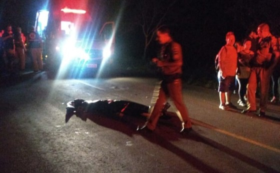 Ciclista morre em acidente no Portão Ocoi depois de bater num buraco e sofrer uma queda