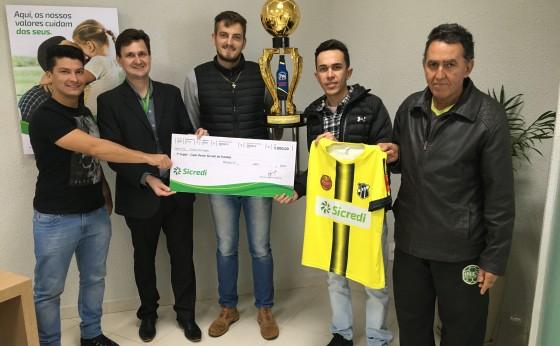 Copa Oeste Sicredi de Futebol – Vencedores receberam premiação
