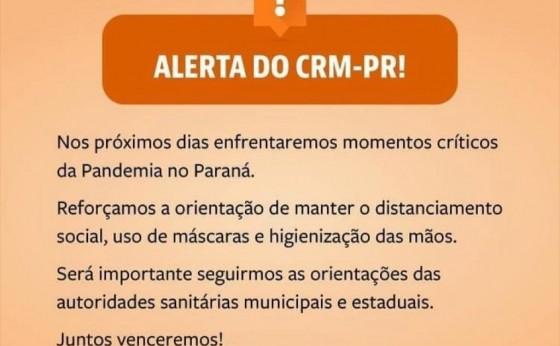 Covid-19: Conselho Regional de Medicina alerta para momento crítico no Paraná