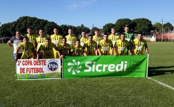 Definidos os semifinalistas da Copa Oeste Sicredi de Futebol