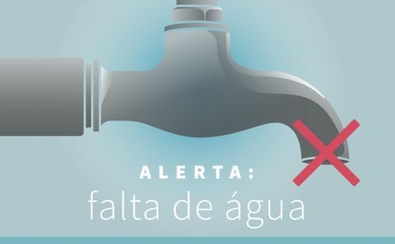 Desligamento de energia afeta abastecimento de água