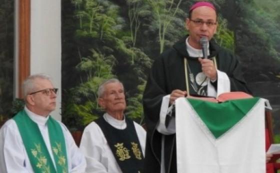 Dom Sérgio esteve em Medianeira em primeiro encontro com o Clero da Diocese de Foz