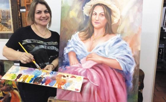 Eliane de Pieri: imortalização de sua arte em vida