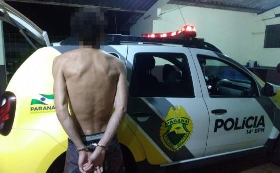 Em abordagem, Polícia Militar de São Miguel cumpre mandado de prisão