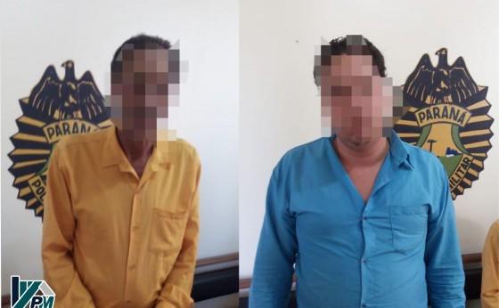 Em rápida ação Policia Militar prende dois ciganos que aplicavam golpes em Missal