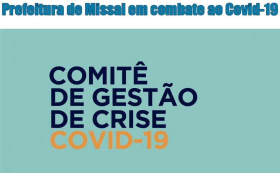 Em vista da Pandemia de Covid-19 Administração de Missal institui Comitê de Crise