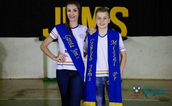 Emelly Larissa Damke e Alessandro Luis Fleck são eleitos garota e garoto JEM's 2019